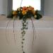 Window arrangement inc. Candles