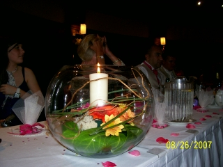 Goldfish Bowl Arrangement