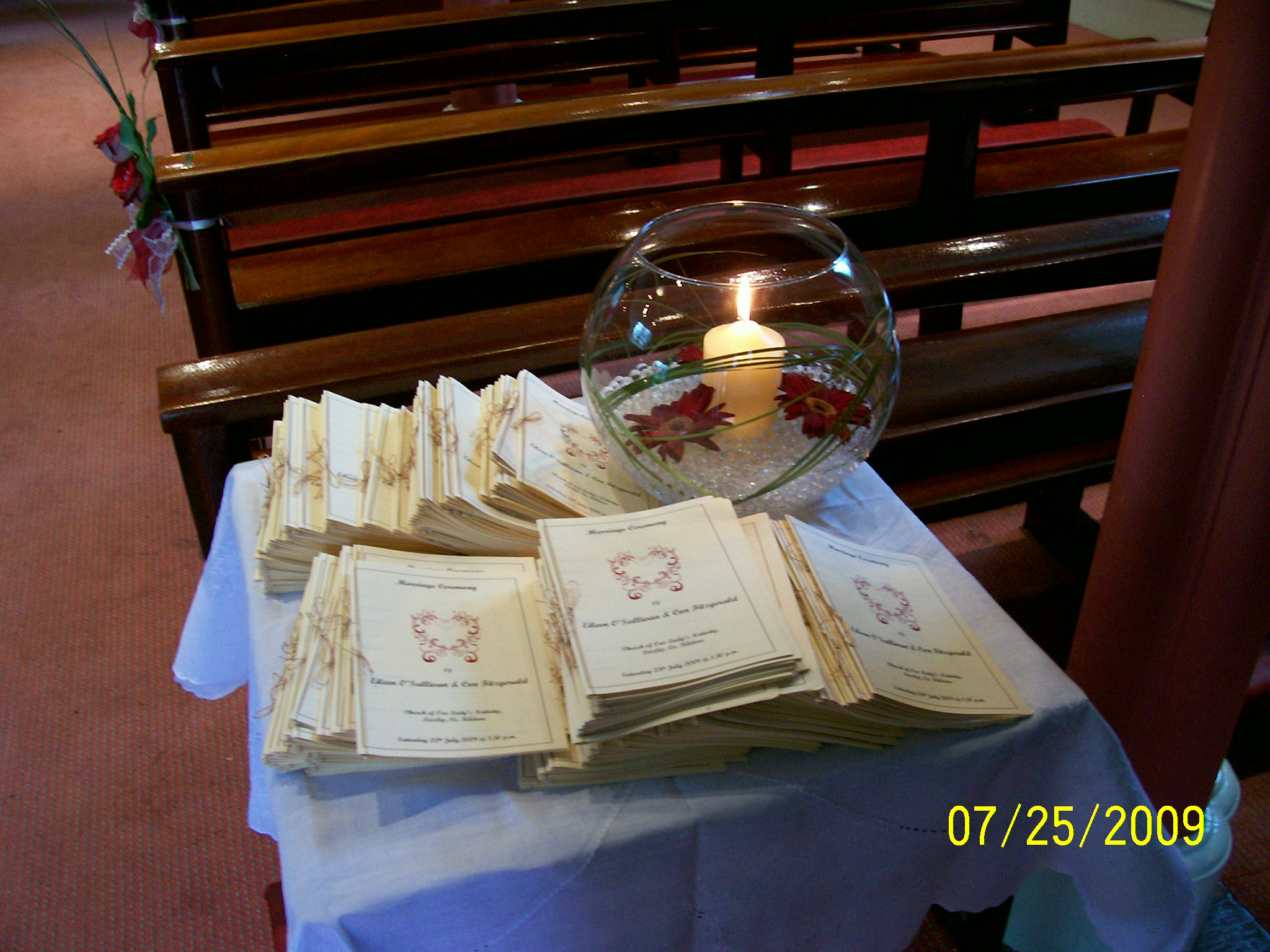 Mass Book Table
