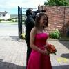 Bridesmaid Bq of Gremini and Roses