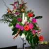 Exotic Arrangement inc Heliconia