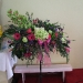 Green Orchids, gerbera, Lilies and chrysanths