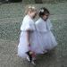 Flowergirls with Cone Arrangement