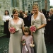 bridesmaids and flowergirl