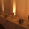 Top Table with Fairy-Light Backdrop